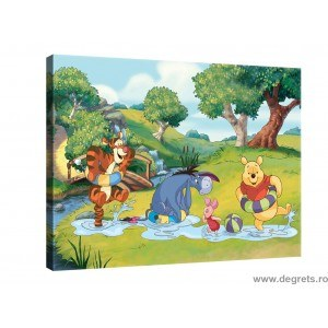 Tablou Canvas Winnie the Pooh si prietenii