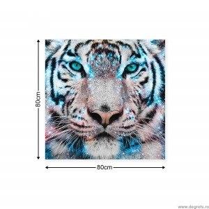Tablou Canvas Tigru 3 3D