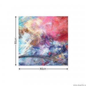 Tablou Canvas Graf colorat 1 M