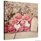 Tablou Canvas Trandafiri romanta