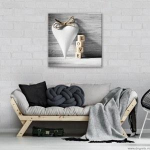 Tablou Canvas Dragoste - 3D Abstractie