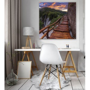 Tablou Canvas Pod langa cascada