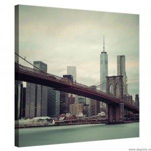 Tablou Canvas Podul Brooklyn 1 M