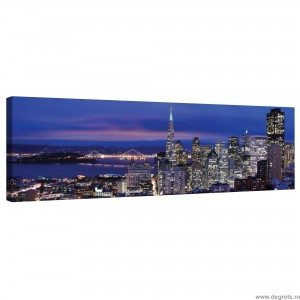 Tablou Canvas Megapolis San Francisco XL