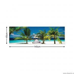 Tablou Canvas Statiune Plaja XL