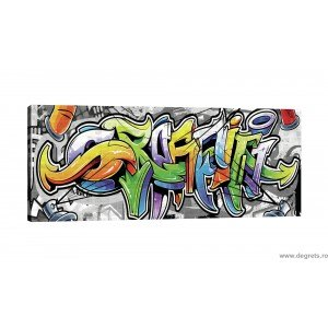 Tablou Canvas Graffiti XL