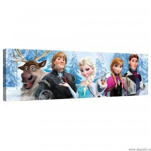 Tablou Canvas Frozen 3