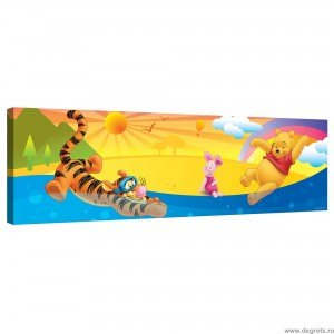 Tablou Canvas Winnie the Pooh in vacanta