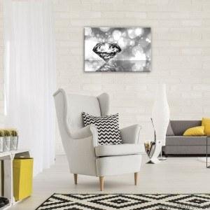 Tablou Canvas Diamant alb negru