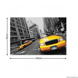 Tablou Canvas Taxi 2 S
