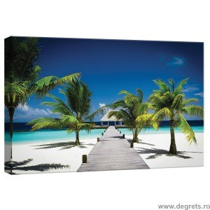Tablou Canvas Statiune Plaja S