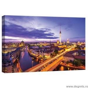 Tablou Canvas Noaptea in Berlin