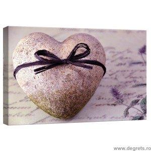 Tablou Canvas Inima de piatra