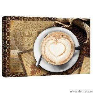 Tablou Canvas Cafea in Londra