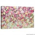 Tablou Canvas Perete de flori 3D S