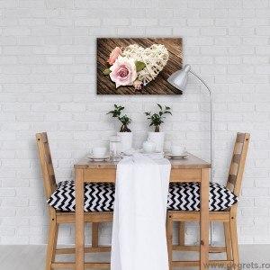 Tablou Canvas Dragoste - Flori 2 S