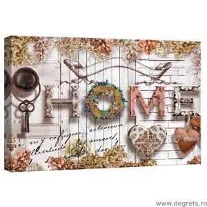 Tablou Canvas Casa comoda bej S