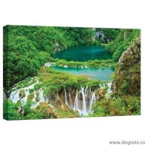 Tablou Canvas Cascada in jungla S
