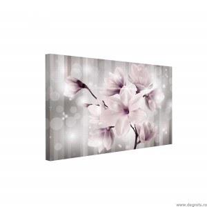 Tablou Canvas Flori magice 3D