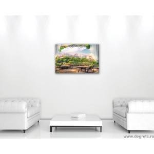 Tablou Canvas Vedere panoramica 1 3D