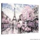 Tablou Canvas Paris arta 1 S