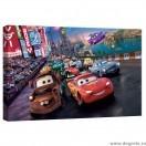 Tablou Canvas Competitie de masini S