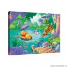Tablou Canvas Winnie the Pooh amuzant