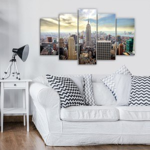Set Tablou Canvas 5 piese New York 1