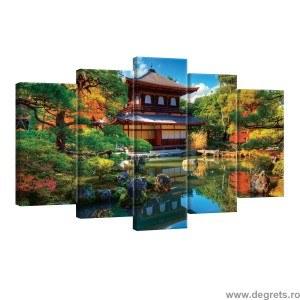 Set Tablou Canvas 5 piese China