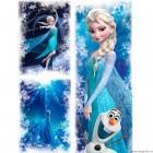 Set Tablou Canvas 3 piese Elsa 4
