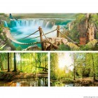 Set Tablou Canvas 3 piese Natura 5