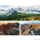 Set Tablou Canvas 3 piese Peisaje munti 2
