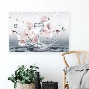 Tablou Canvas Magnolie alba 3D