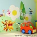 Sticker Disney Winnie the Pooh 4