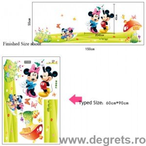 Sticker Disney Mickey Mouse 3