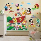 Sticker Disney Mickey si prietenii 3D