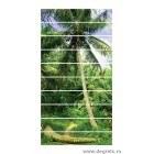 Sticker pentru scari Insula Tropicala 10x18x100 cm