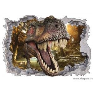 Sticker Dinozaur 1 3D 65x90cm
