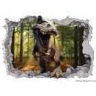 Sticker Dinozaur 2 3D 65x90cm