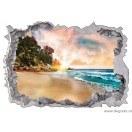Sticker Bahami 3D 65x90cm