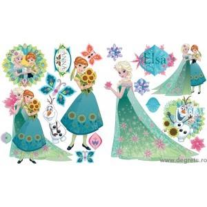 Sticker Elsa si Ana 1 2x65x45 cm