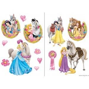 Sticker Printese Disney 2 2x65x45cm