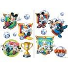 Sticker Mickey Mouse si prietenii 2x65x45cm
