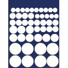 Sticker Luni stralucitoare