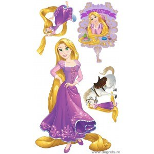 Sticker Rapunzel 160 cm