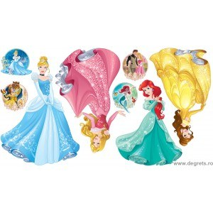 Sticker Disney Princesses 2 160 cm