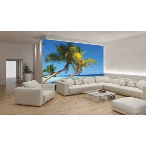 Fotografie tapet Plaja Tropicala 3 L