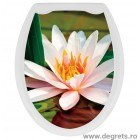 Capac WC universal Lotus 3D decor