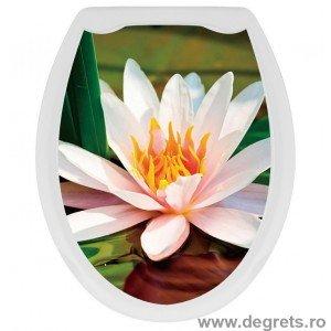 Capac WC universal Lotus 3D decor