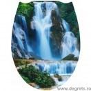 Capac WC universal Cascada 3D decor